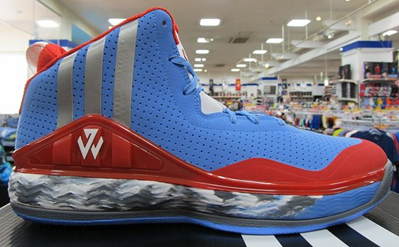 adidas J Wall 1 Blue Scarlet Red