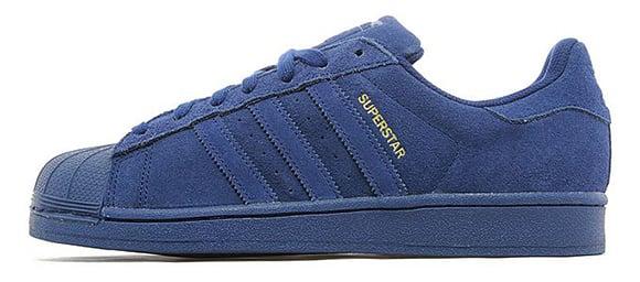Adidas Superstar Suede Blue