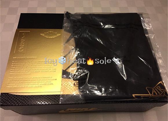Air Jordan 1 Pinnacle Black Gold Brooklyn