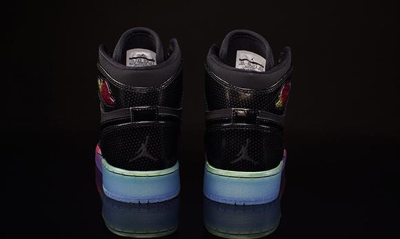 Air Jordan 1 Retro High GS Rainbow Sole