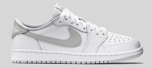 Air Jordan 1 Retro Low OG White Natural Grey