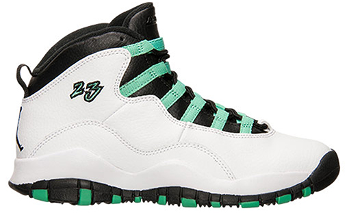 Air Jordan 10 Girls GS Bleached Turquoise Release Date