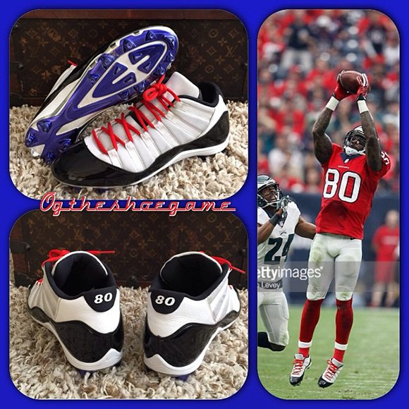Air Jordan 11 Andre Johnson PE Cleats