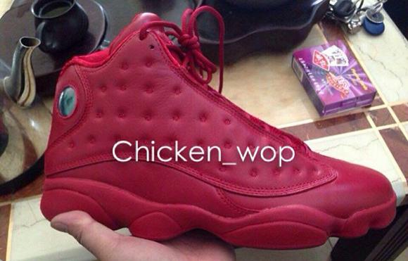 big sale d52d1 996c4 Air Jordan 13 'Red October' (Gym Red) Sample | SneakerFiles