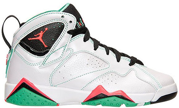 air jordan 7 gs white/infrared-black