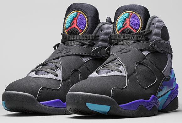 Air Jordan 8 Aqua Retro Holiday 2015