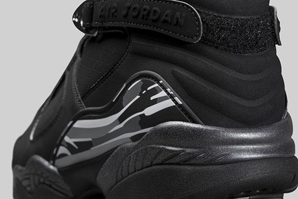 Air Jordan 8 Black Chrome Retro Holiday 2015