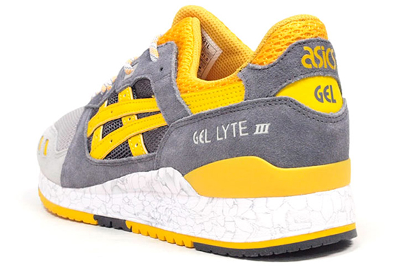 Asics Gel Lyte III 'High Voltage' Yellow Grey | SneakerFiles