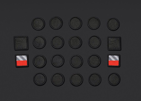 Black Nike Air Max 1 Patch
