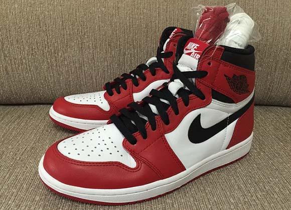 Chicago Bulls Air Jordan 1 Retro High OG 2015