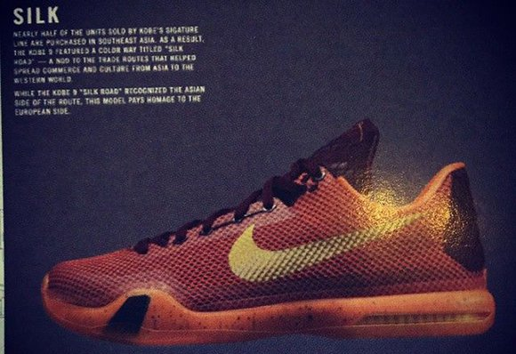 Nike Kobe 10 X Silk Road