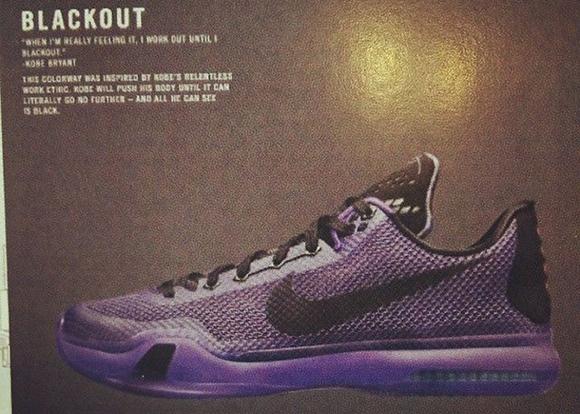 Nike Kobe 10 X Blackout