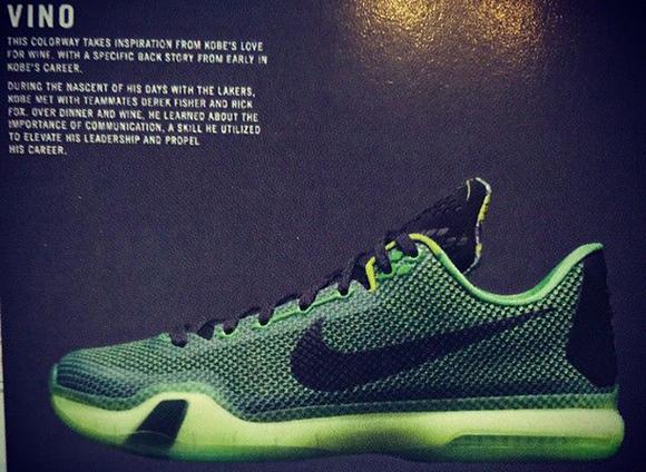 Nike Kobe 10 X Green Vino