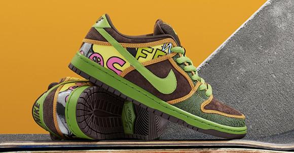 sports shoes 17210 84fbf Nike SB Dunk Low De La Soul