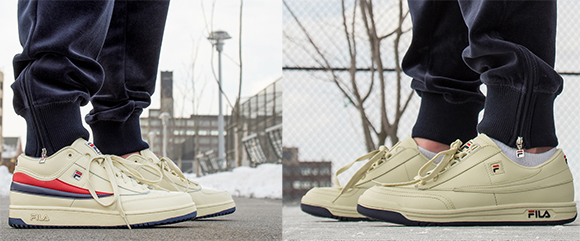 Fila Original Tennis & T 1 Mid 'Cream Team' Pack SneakerFiles  SneakerFiles