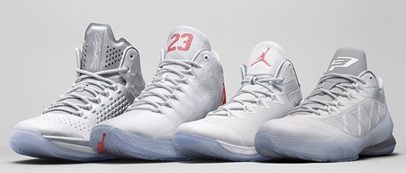 Jordan Brand Unveils Athletes All-Star Sneakers