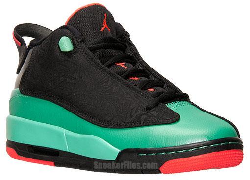 Jordan Dub Zero Girls Black Infrared Verde