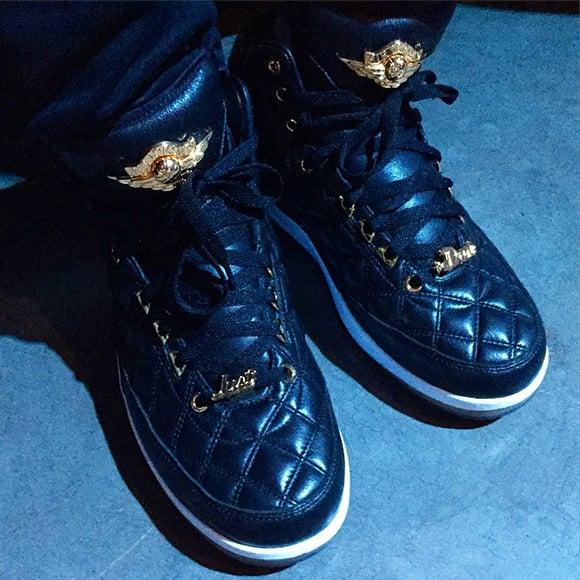 Just Don Air Jordan 2 Black Gold