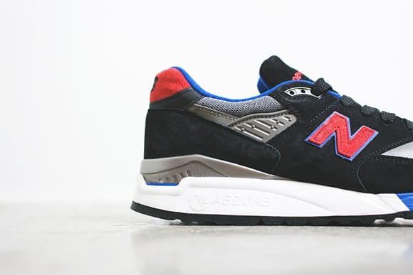 New Balance 998 CBL Black Red