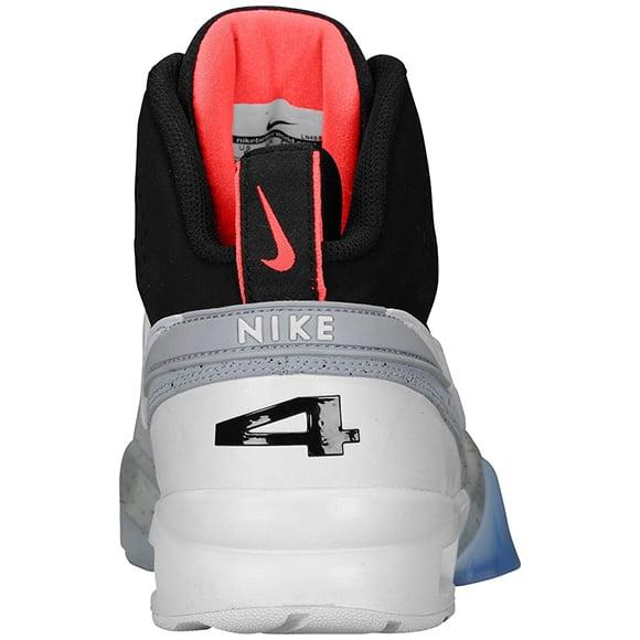 Nike Air Bo 1 Black Atomic Red Cement