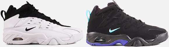 Nike Air Flare White Black Persian Violet Available