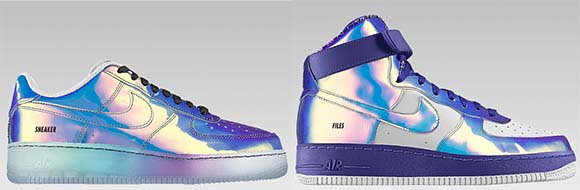Nike Air Force 1 'Iridescent' Option on NikeiD | SneakerFiles