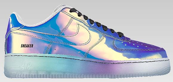nike air force iridescent