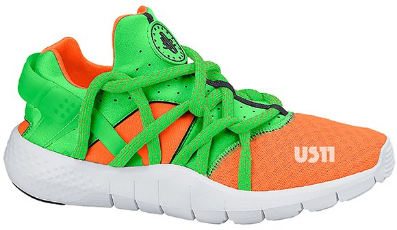 Nike Air Huarache NM Green Orange