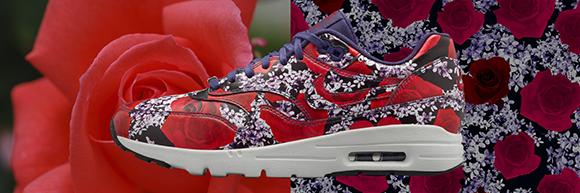 Nike Air Max 1 Ultra Womens Floral London