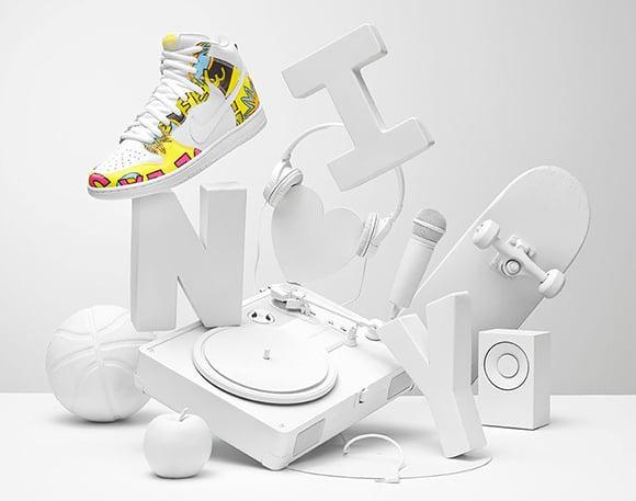 Nike Dunk SB High De La Soul 2015