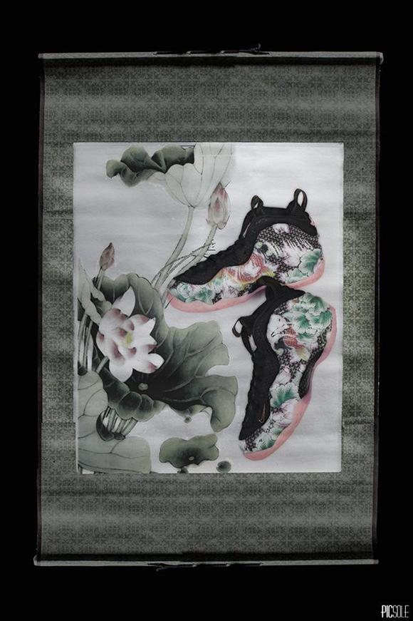 cf87cbd9f6121 Nike Foamposite One  Tianjin  China - Detailed Look