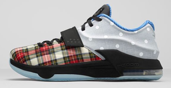 Nike KD 7 EXT Plaid and Polka Dots