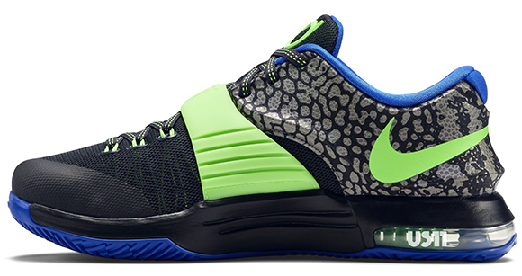 Nike KD 7 Flash Lime Electric Eel