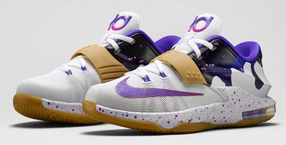 best service bd449 10b1c Nike KD 7 GS Peanut Butter and Jelly Releases Tomorrow ...