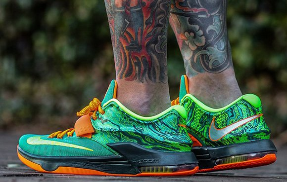 the best attitude c9381 d11db Nike KD 7 Weatherman On Foot