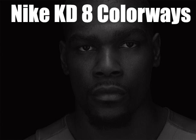Nike KD 8 Upcoming Colorways