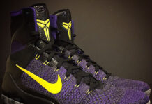 Nike Kobe 9 Elite Lakers Away PE