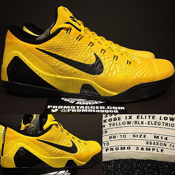 Nike Kobe 9 Elite Low Bruce Lee