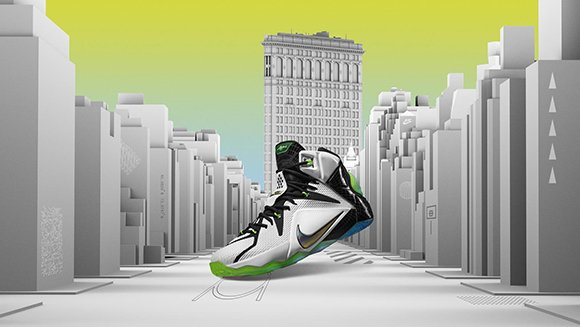 Nike LeBron 12 All Star Flatiron Building