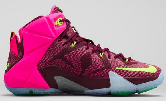 durable modeling Nike LeBron 12 Double Helix Official Images ... 439f428a1