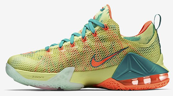 Nike LeBron 12 Low LeBronold Palmer Release Date