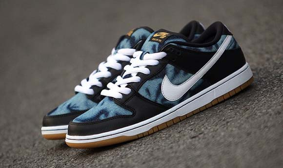 Nike SB Dunk Low Washed Denim Fast Times