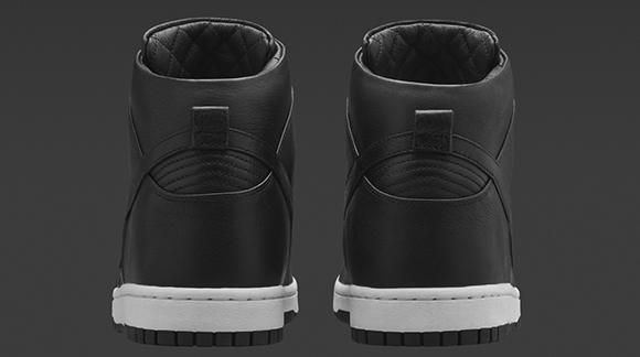 NikeLab Dunk Lux High Black