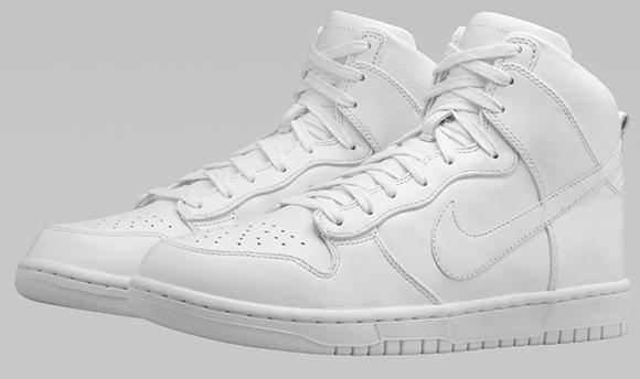 NikeLab Dunk Lux High White