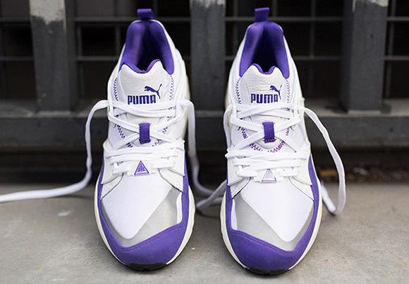 Puma Blaze of Glory Primary White Prism Violet