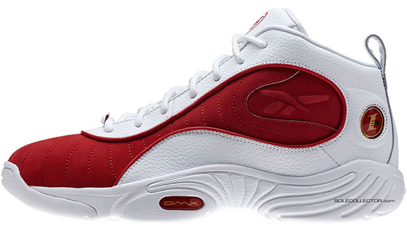 Reebok Answer 3 Retro White Red