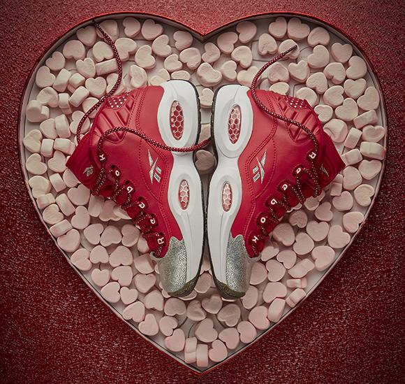 Reebok Question Mid Girls Valentines Day 2015