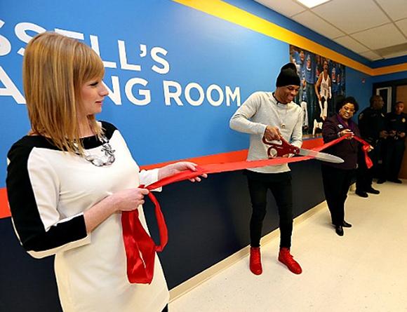 Russell Westbrook Wears Red Air Jordan 1 Retro High OG