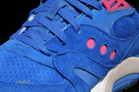 Saucony G9 Master Control Neon Nights Blue Pink