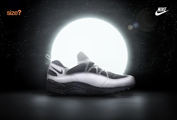 Size? Nike Air Huarache Light Moon Eclipse